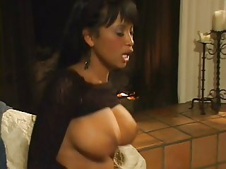 Monster cock fucks black chick