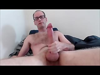 Jerking Big Cut Cock