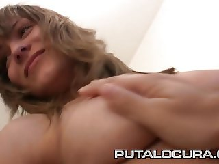 PUTA LOCURA Gorgeous Busty Czech Teen
