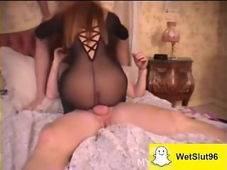Sexy stepdaughter does first-time