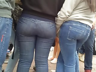 great Mexican ass in jeans