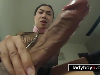 Big penis ladyboy fucks a guy anal after he fucked her first