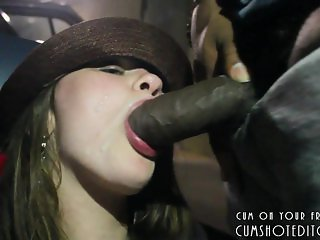 White Amateur Slut Loves Big Black Cocks