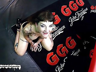 German Goo Girls - Tattoos Anal and Cum