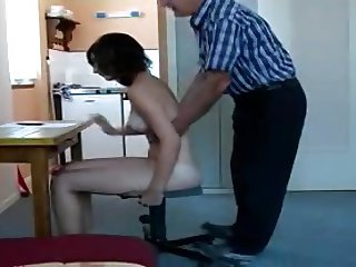 private spanking lesson