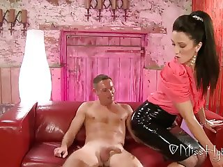 Latex Mistress Handjob