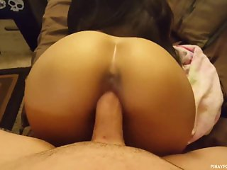 Hot pinay reverse cowgirl doggy