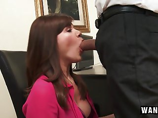 Cute Office Assistant Fucks Her Boss for a Promotion!
