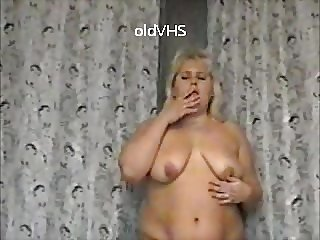 Mature fat Russian woman