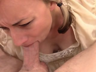 Watch my slut wife take messy money shot!