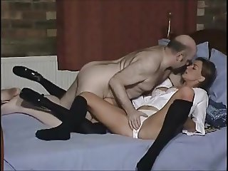 Stepdaughter makes love with Stepdad and Her Friend (RARE)