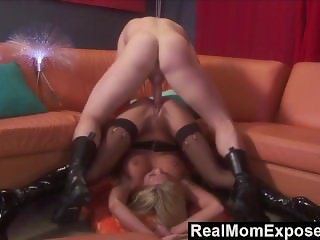 RealMomExposed - Horny Milf Gets Rammed and Facialized