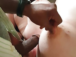 Ramming my BBC and Balls down BBW Bunny's Throat