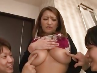 beautiful japanese mature fuck young boys