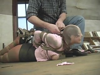rin in anther sick ass hogtie
