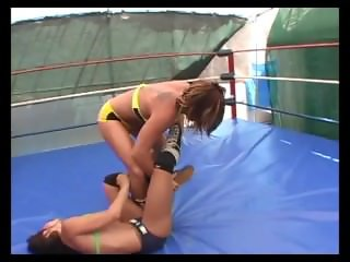 Sleeper hold knockout match