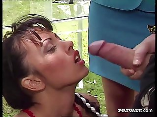 Carmen Enjoys Sex in the Garden