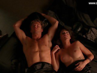 Lizzy Caplan - Hot Sex Scenes, Perky Boobs, Topless + Underwear True Blood