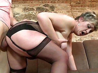 not mother gets banged by lucky young cock