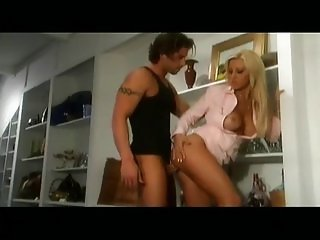 Jill Kelly knows how to handle a big cock