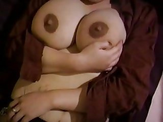 Mom's huge lactating boobs need relief 5