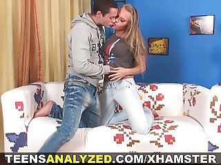Teens Analyzed - Assfucking on a first real date
