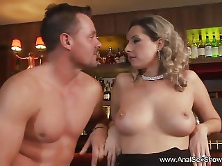 Anal Sex Party in the Bar