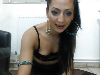 Crazy Romanian girl squirt part 2