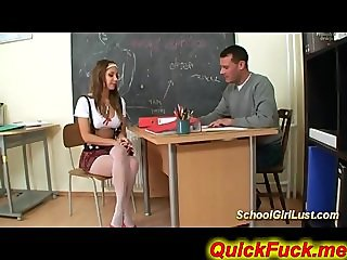 nasty student fucks teacher