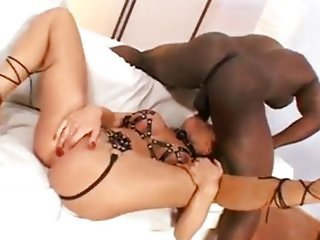 Bonny Bon Rough Anal - Ebony sex