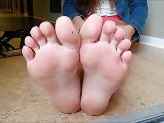 Soles on the floor