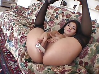 Smoking hot Latin chick banged hard