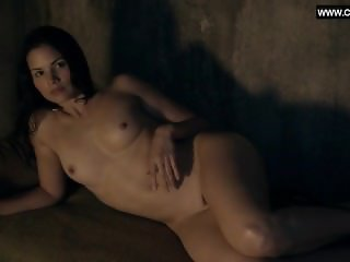 Katrina Law - Group of Nude Girls, Full Frontal, Topless - Spartacus