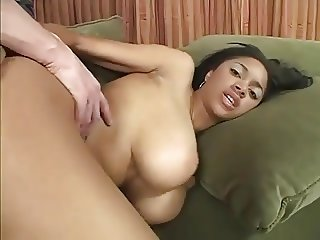 Hanging boobs, Busty Black Babe Free Big Dick