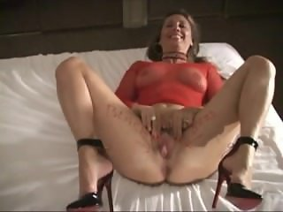 White Slut Black Bred In Red