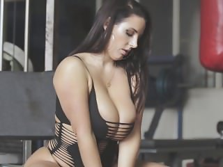 Angela white workout