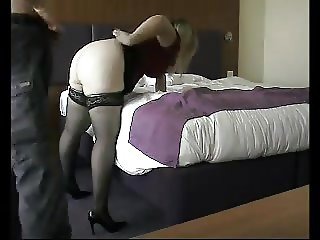 Wife fucks with complete stranger in hotel