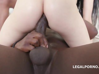 Crystal Greenvelle Gangbang By Big Black Cocks