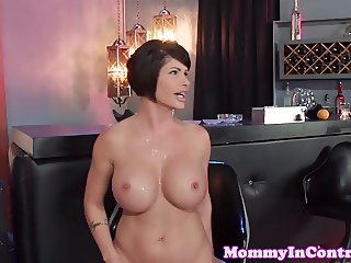 Dominant milf doggystyled until cuminmouth