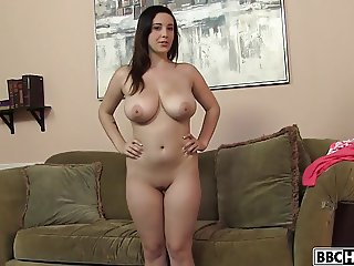 Busty Noelle Easton takes a BBC pounding