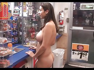 Latina Shopping Nude