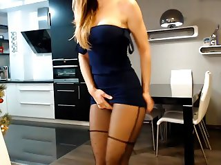 Girl in Skirt Fingering