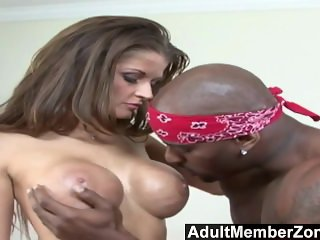 AdultMemberZone - Busty white whore craves massive black dick