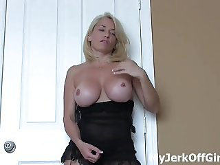 I am going to milk the cum right out of you JOI