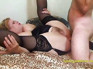 Huge baps lady having her ass fucked