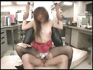 Japanese Boots and Fishnets Girl 3 Way 6