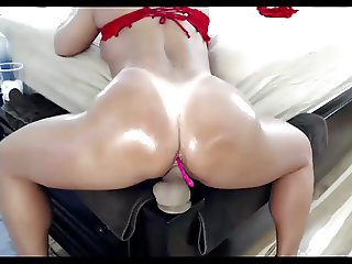 Milf great dildo lush webcam show