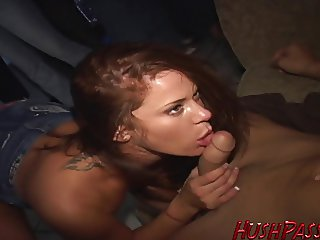 Frat House Fuck Fest Pt1 Savannah gets fucked first!