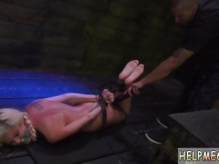German girl punishment  Halle Von is