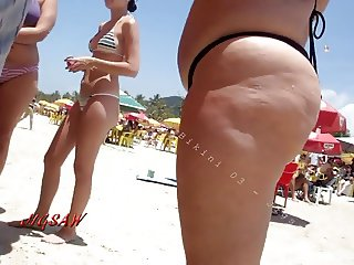 Candid Big Booty Praia Butt Bikini Pawg Beach Big Ass 03